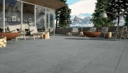 Feinsteinzeug Matrix - Silver 120x60x2 cm