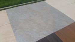 Feinsteinzeug Stonline - Silver 60x60x2 cm