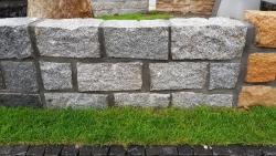 Mauersteine Porto Grau 40 x 20 x 20 cm