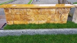 Mauersteine Gold - Gtr. - 40x20x20 cm