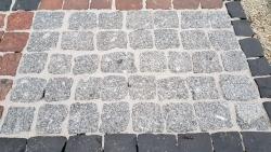 Großpflaster Porto Grau 15 - 17 cm