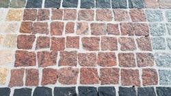 Mosaik Pflaster - Vanga Rot 4 - 6 cm