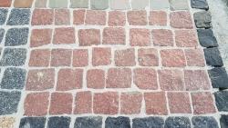 Mosaik Pflaster - Manga Rotlich 4 - 6 cm