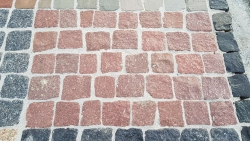 Klein Pflaster - Manga Rotlich 9 - 11 cm