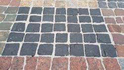Mosaik Pflaster - Indisch Schwarz 4 - 6 cm