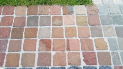 Mosaikpflaster - Desert Yellow  5 x 5 x 5 cm