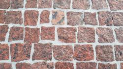 Mosaikpflaster Vanga Rot 4-6 cm