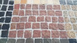 Mosaik Pflaster - Magadi Rot 4 - 6 cm