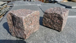 Mosaik Pflaster - Bohus Rot 4 - 6 cm