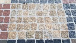 Mosaik Pflaster - Porto Gelb 4 - 6 cm