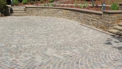 Mosaik Pflaster - Grauwacke  4 - 6 cm
