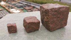 Groß Pflaster  - Magadi Rot 15 - 17 cm