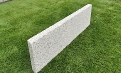 Rasenkante Granit Grau 6 x 20 x 100 cm