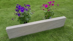 Rasenkante Kandla Grey 6x20x100 cm