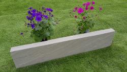 Rasenkante Kandla Grey 8x25x100 cm