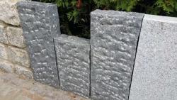 Stelen Negra - Anthrazit 150x25x10 cm