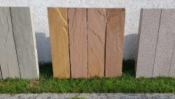 Stelen Desert - Sandstein 100x12x8 cm