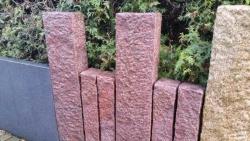 Stelen Magadi Rot 150x25x12 cm