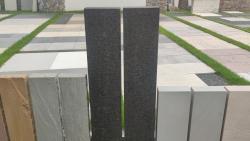 Stelen Basalt - Geflammt 100x20x6 cm
