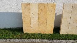 Stelen Travertin Gold 100x20x6 cm