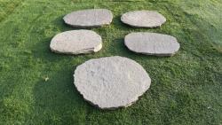 Trittplatten Kavala - Handbekantet