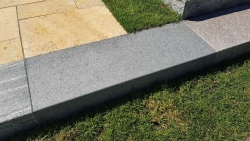 Blockstufen Negra - Dunkel Grau 50x35x15 cm