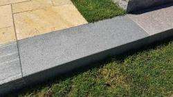 Blockstufen Negra - Dunkel Grau 150x35x15