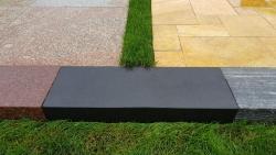 Blockstufen Absolute Black - Schwarz 100x35x15