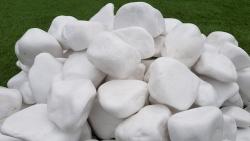 Zierkies Thassos 8 - 13 cm - Schneeweiß Marmo